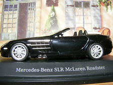 Mercedes-Benz SLR McLaren Roadster 2007 in SCHWARZ   Minichamps 1:43rd .scale
