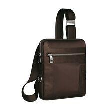 Piquadro Frame brown organized slim pouch w/ mobile case CA1358FR/M