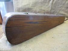Vintage Wooden Violin Case > Antique Instrument Musical Music Oak Gear 9269