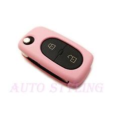 ROSA Copertura chiave per AUDI 2 Bottoni Caso Fob remoto PROTECTOR PAC Shell Bag car41p