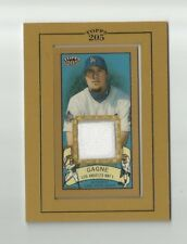 2003 TOPPS 205 ERIC GAGNE GAME-USED JERSEY #TR-EG LOS ANGELES DODGERS