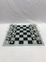 Restoration Hardware Prost Shot Glass Chess Complete 32 Glasses Vintage Rare