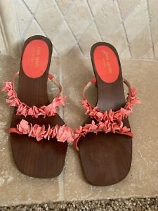 Kate Spade Coral Sandals 8