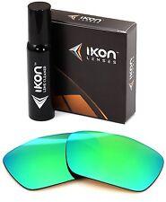 Polarized IKON Iridium Replacement Lenses For Oakley Jury Emerald Mirror