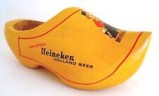 Heineken Wooden Shoe Advertising Piece Yellow