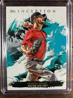 Chris Sale Baseball Card #88 Topps Inception Boston Red Sox Free Ship MINT MLB