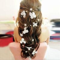 Frauen-Blumen-Perlen-Band-Brautstirnband -Hochzeit Haarband Kopfbedeckung Pro
