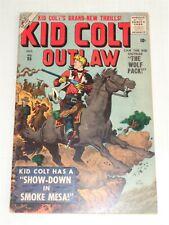 KID COLT OUTLAW #65 VG (4.0) OCTOBER 1956 MARVEL ATLAS COMICS **