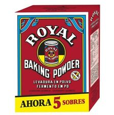ROYAL Baking Powder 5 sachets - Gluten free Suitable for vegans - FAST DELIVERY