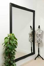 Large Wall Mirror 6Ft7 X 4Ft7 201cm X 140cm Extra Classic Ornate Black