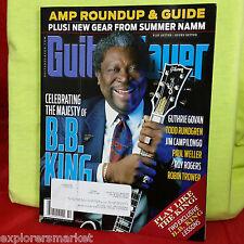 BB King Amp Guide Guthrie Govan Namm b b  Guitar Player Magazine October 2015