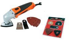 300W Multi Tool Oscillating Scraper Sanding Cutting Inc 14pc Extra Accessories