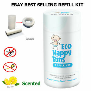 DIY Nappy Bin Refill Kit for Tommee Tippee Sangenic - Now Scented!