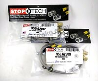 For Chevy Camaro 89-02 StopTech 950.62501 Stainless Steel Rear Brake Line Kit