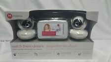 "Motorola Mbp38s 2 Digital Video Baby Cam Wit 4.3"" Color Lcd Screen Monitor"