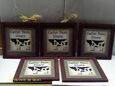 Wholesale lots of 5 gather bless share cow signs