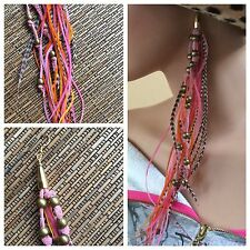 Feather uni- Earring. One Of A Kind by Zoë Battles Designs. Boho