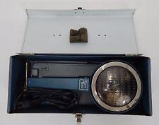 Vintage Smith Victor Model L 8 Electric Hand Flood/Spot Light in Metal Case