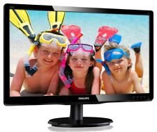 Philips 200V4QSBR 20 inch LED Monitor - Full HD 1080p, 20ms Response, DVI