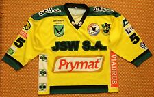 GKS Jastrzebie Home hockey Jersey  #55 Peter, Player Issue, Size 3