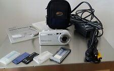 Sony Cyber-shot DSC-P100 5.1 MP Digital Camera - Silver