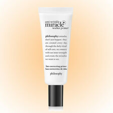 Philosophy Anti-Wrinkle Miracle Worker Primer+Line-Correcting Primer 0.9 OZ. NEW