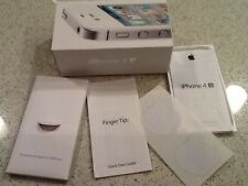 Original BOX for Apple iPhone 4S White 16GB Booklets & BOX ONLY