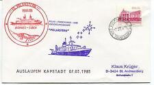 1985 Polarstern biomass Sibex Versorgungsschiff Polar Antarctic Cover