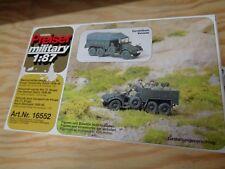 H0 Preiser 16552 Mannschaftskraftwagen Kfz 70.DR 1939-45. Militär. BAUSATZ.  OVP