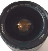 Minolta AF Zoom 28-80mm f/3.5-5.6 Lens