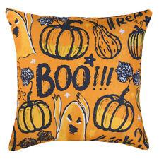 "18"" Flower Print Square Cotton Linen Throw Pillow Case Cushion Cover Home Decor"