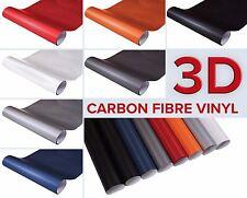 [3,49€/m²] Carbon Folie 3D Struktur selbstklebend Klebe Deko Auto Matt AutoFolie