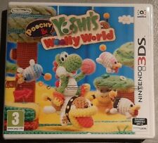 Jeu POOCHY & YOSHI'S WOOLLY WORLD - Nintendo 3DS - Français (PAL) - Neuf blister
