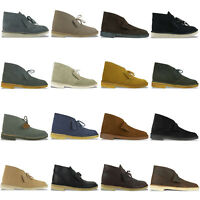 CLARKS ORIGINALS DESERT BOOT - VARIOUS COLOURS - BLACK/COLA/BROWN BNIB