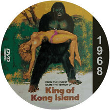 "King of Kong Island (1968) Action and Adventure NR CULT ""B"" Movie DVD"