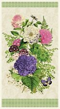 Flower Show Panel by Anne Rowan for Wilmington Prints Quilting