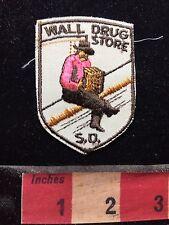 Vtg WALL DRUG STORE South Dakota Patch - Accordion Music Player Instrument 76RR