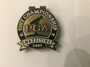 91st PGA Championship Money Clip Hazeltine National 2009