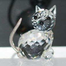 Swarovski Original Figurine Cat 010011 with Packaging