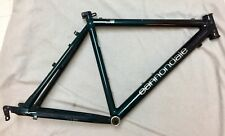 """1993 Cannondale Mountain Bike Bicycle Frame Black Fade To Green 18"""" Aluminum USA"""
