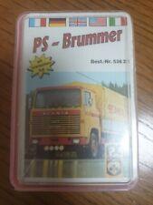 Quartett Kartenspiel FX Schmidt PS-Brummer 60er Jahre Vollständig F