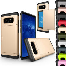 Credit Card Holder Phone Case For iPhone XS Max XR X 5 6 7 8 Samsung S6 S7 S8 S9