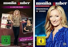 4 DVDs * MONIKA GRUBER - LIVE - IM SET # NEU OVP %