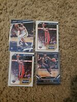 (4) 2019 PANINI CHRONICLES ZION WILLIAMSON ROOKIE RC LOT - PELICANS
