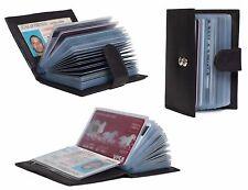 European Black Credit Card Holder Wallet