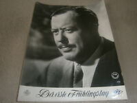 Kino Aushangfoto Portrait-  DER ERSTE FRÜHLINGSTAG- PAUL DAHLKE