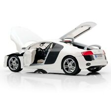 AUDI R8 WHITE 2008 HARD TOP MAISTO 1/18 PREMIERE EDITION SCALE 1:18 WEISS BLANC