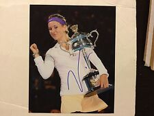Victoria Azarenka Signed 8x10 Photo PROOF Autographed d