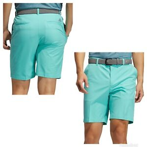 New Adidas Ultimate 365 shorter inseam 8.5 inch Solid Golf Shorts- acid mint