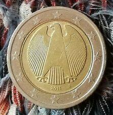 2 Euro Münze Fehlprägung❕ Deutschland 2011 D (Doppelprägung)